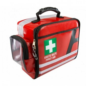 AEROcase FirstAid Bag, Plane, rot