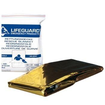 Lifeguard Rettungsdecke gold-silber