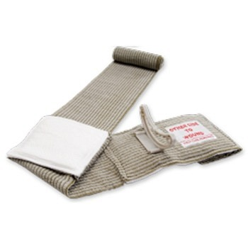 Emergency First Care Doppel-Bandage 4in / Military