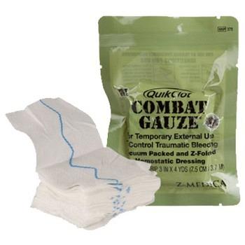 QuikClot Combat Gauze Z-Fold - CE