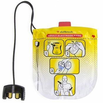 Defibtech Elektroden für Erwachsene zu AED VIEW / PRO / ECG